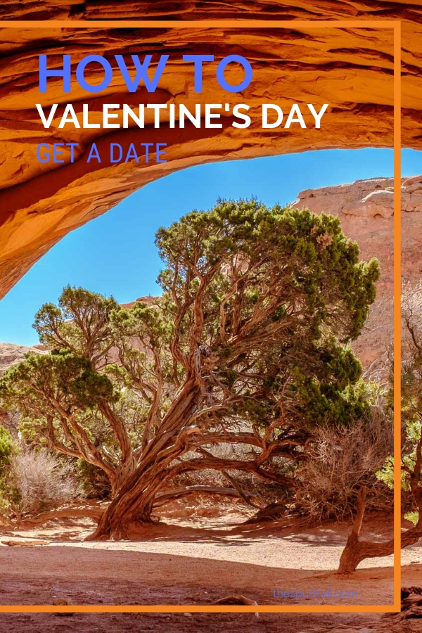 Arches National Park and finding love serendipitously on Valentine's Day