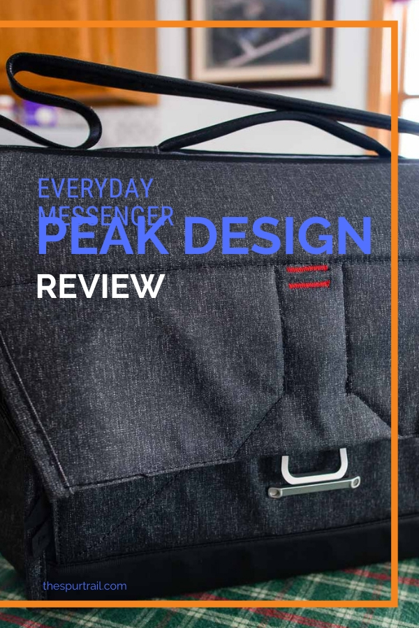 Peak Design Everyday Messenger Bag review for photography purposes