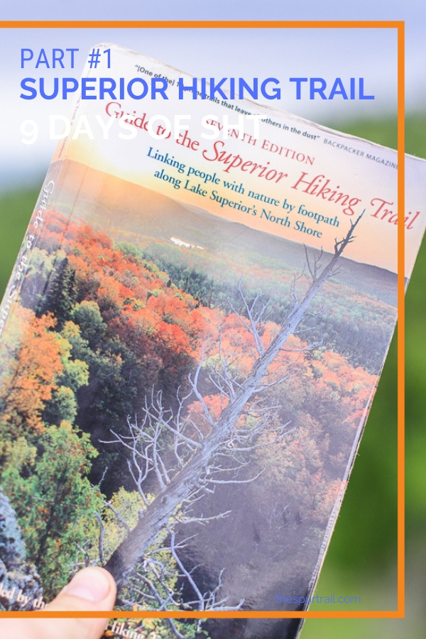 Superior Hiking Trail guidebook