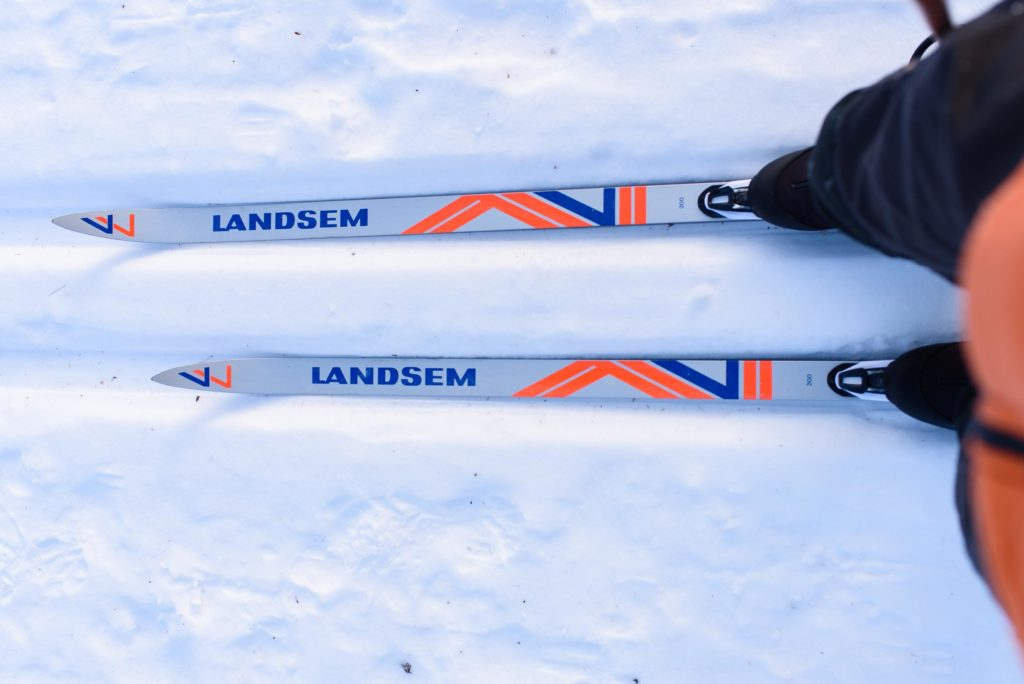 My Dad's old ski's from the 70's, probably haven't been used in forty years.