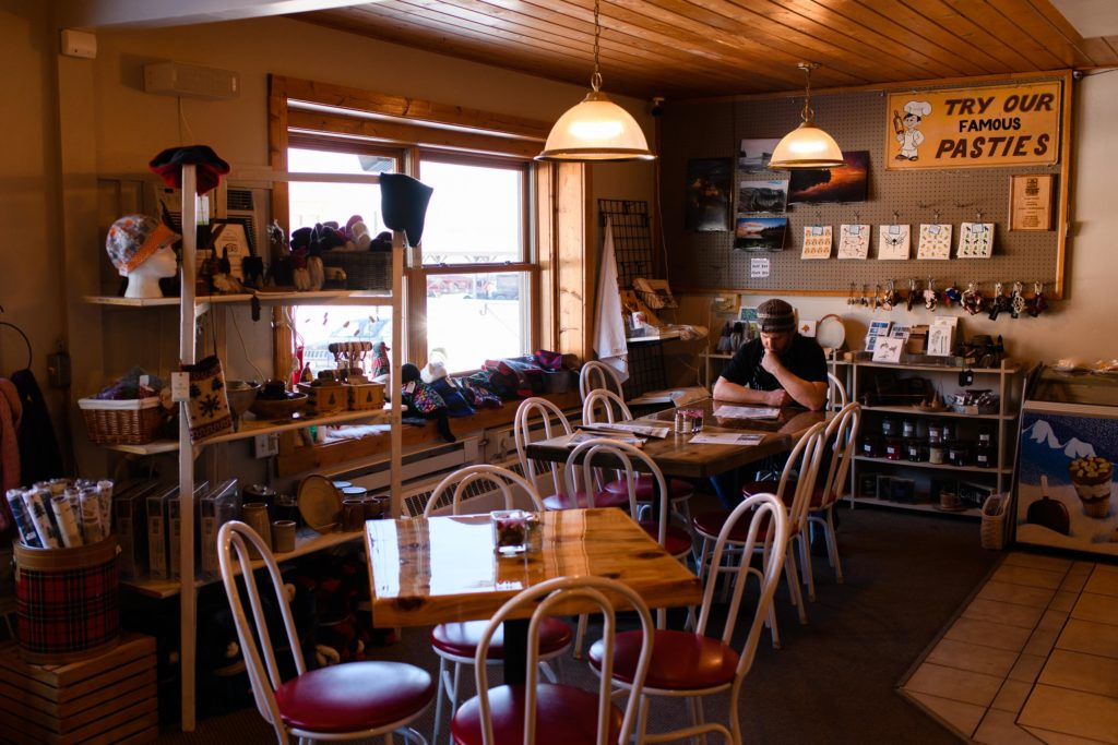 Louise's Place in Two Harbors where they make the famous and sought after pasties.